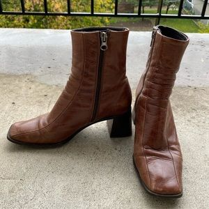 Shoes - L'intervalle leather boot